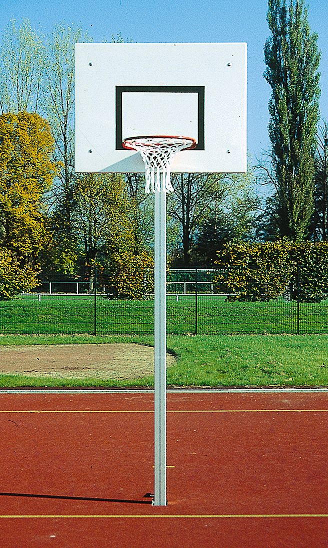 Holzhof SPORTING STRUCTURES Basketball goal with backboard, basket, net and accessories, competition height