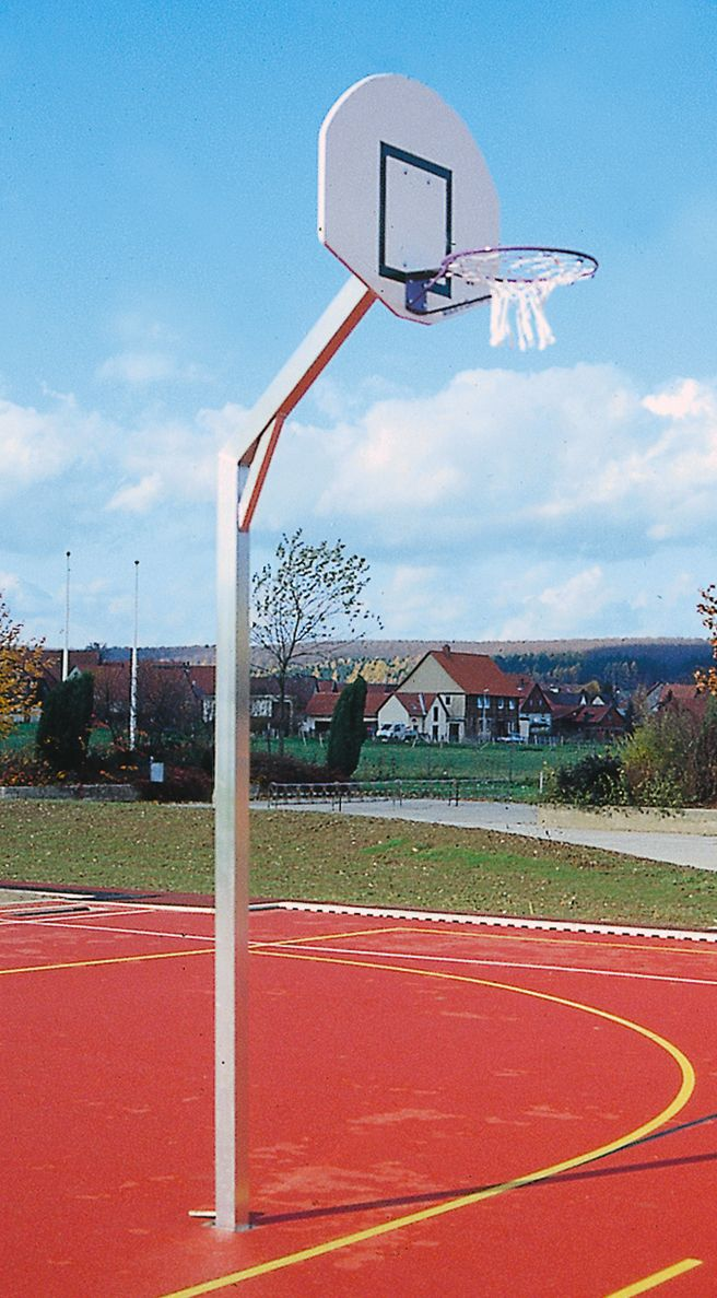Holzhof SPORTING STRUCTURES Basketball goal with backboard, basket, net and accessories, height 305