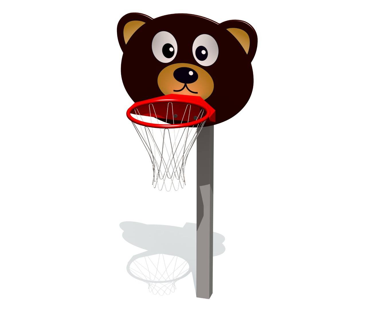 TipTipTap  Basketbal constructie TEDDY BEER