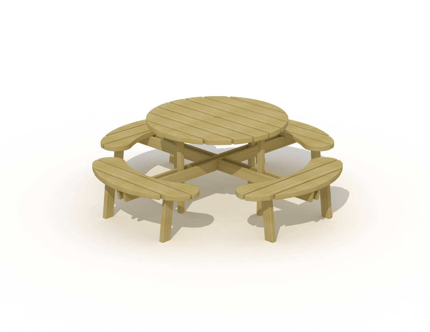 Europlay  Ronde picknicktafel